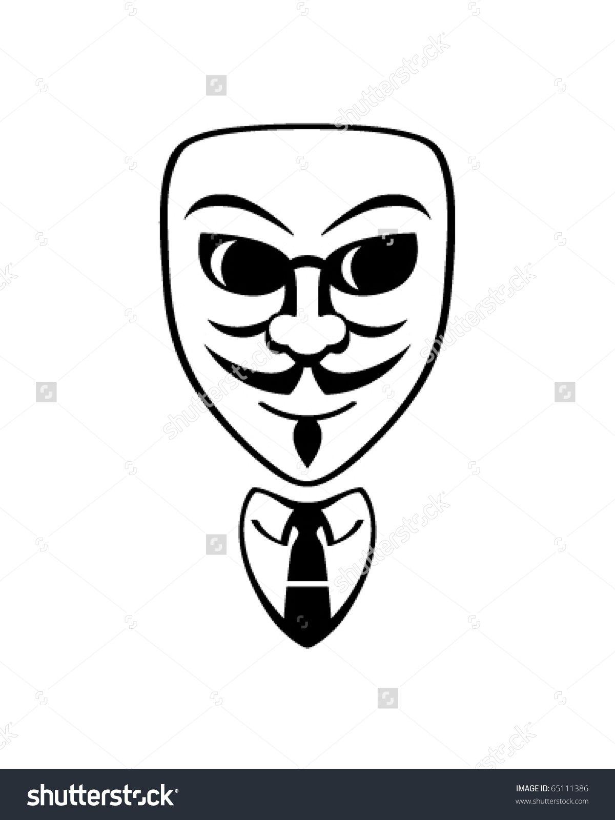 1200x1600 Anonymous Mask Stock Vectors Amp Vector Clip Art Shutterstock