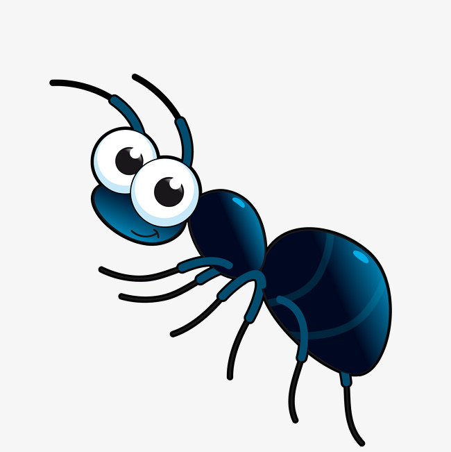 650x651 Vector Cute Cartoon Ant, Cartoon Vector, Ant Vector, Cute Ants Png