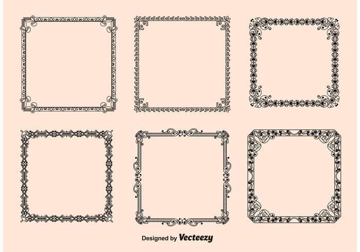 700x490 Vintage Frame Free Vector Art