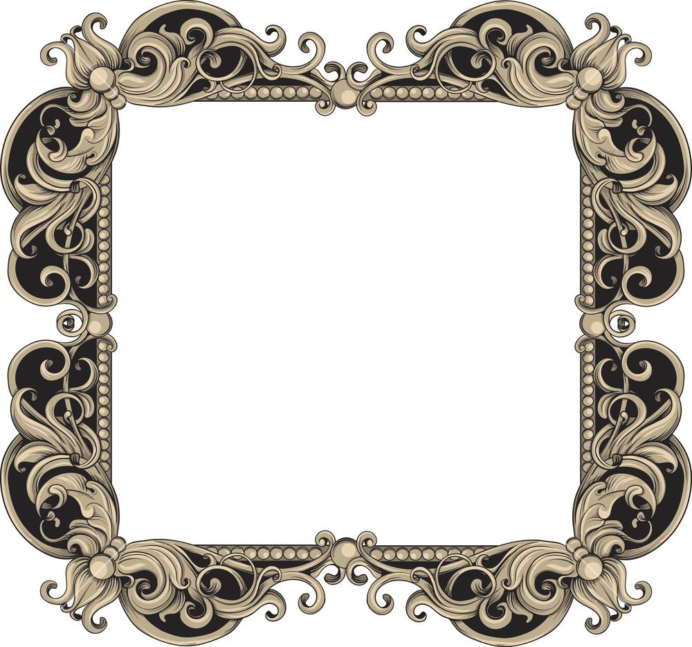 1000x934 Vintage Frame Royalty Free Stock Image