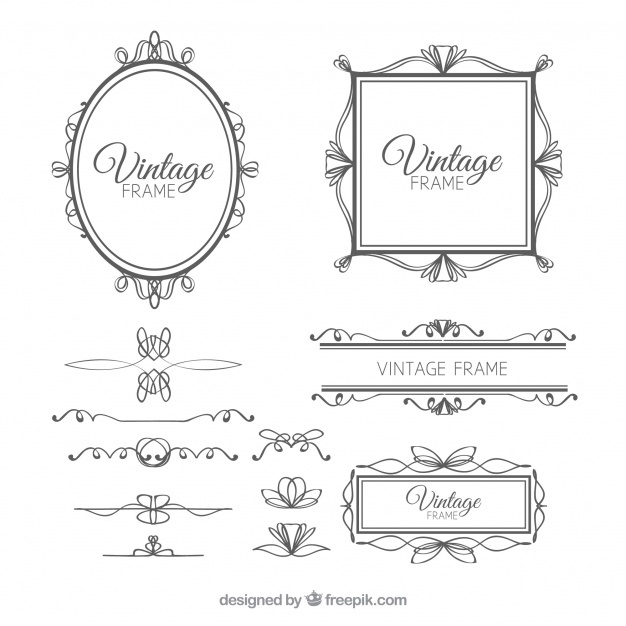 626x626 Vintage Frame Vectors, Photos And Psd Files Free Download