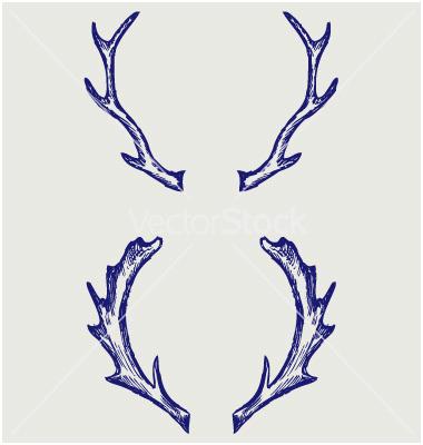 380x400 51 Admirable Photos Of Deer Antler Vector Backgrounds