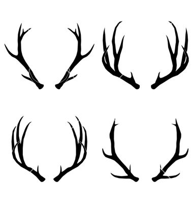 380x400 Antler Vector Images (Over 4,500)