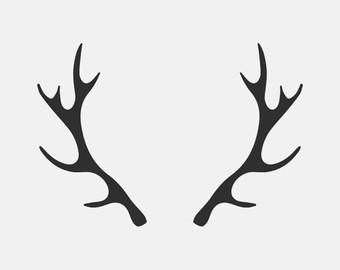 340x270 Antler Clipart Deer Horn