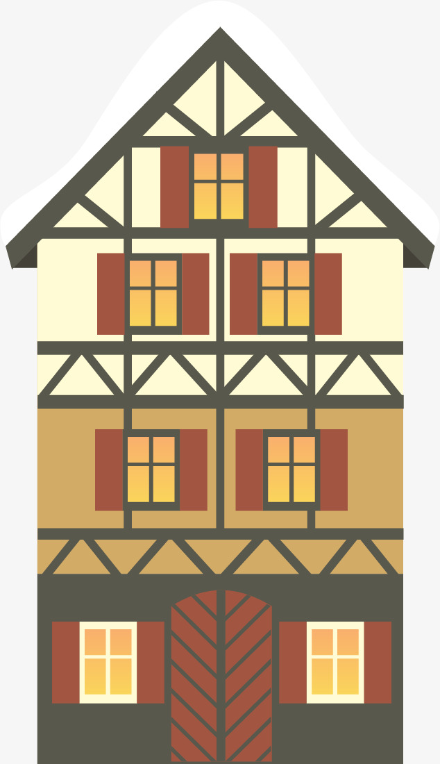 634x1100 Building,apartment, Building Vector, Christmas, Vector Png And