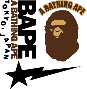 294x300 A Bathing Ape Logo Vector (.eps) Free Download
