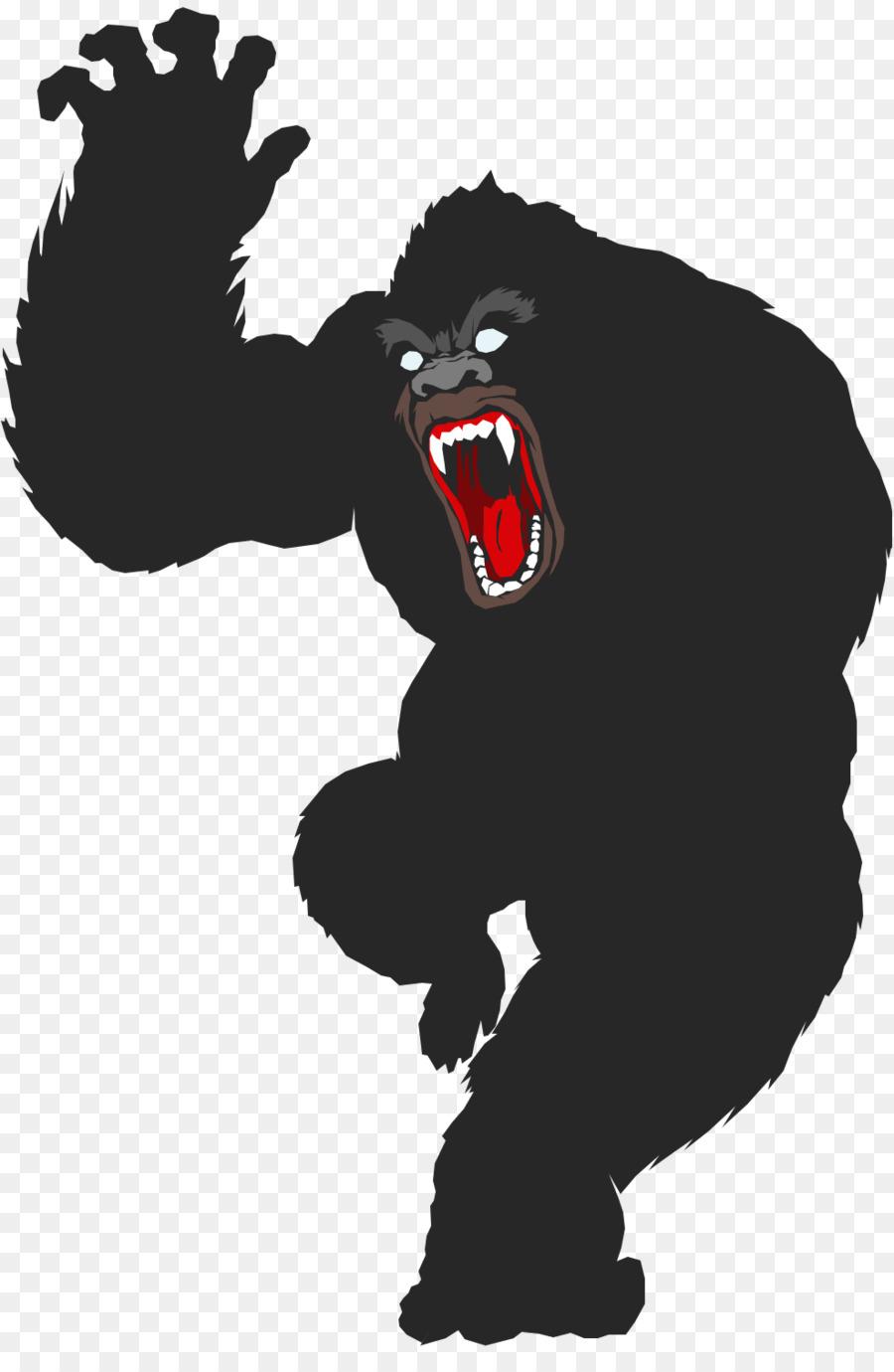900x1380 Gorilla King Kong Ape Primate