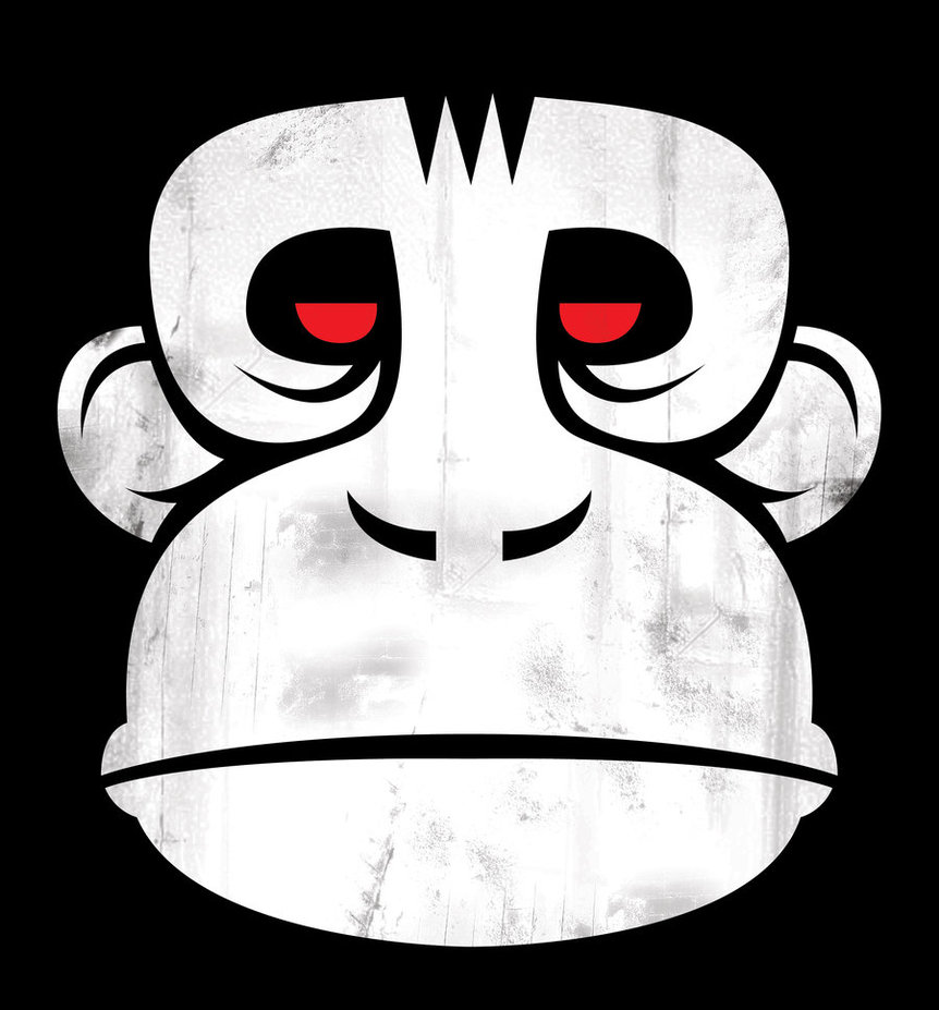 862x927 Vector Ape. By Gorbbuster