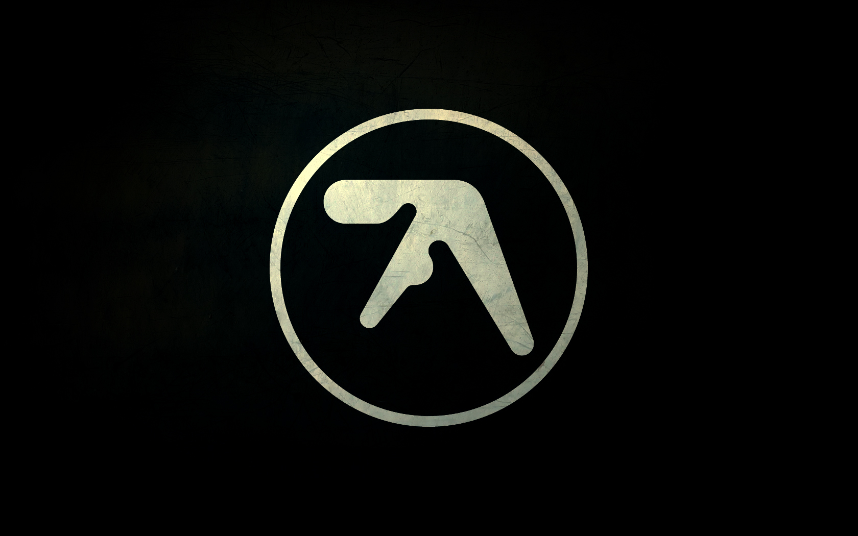1680x1050 Aphex Twin Logos