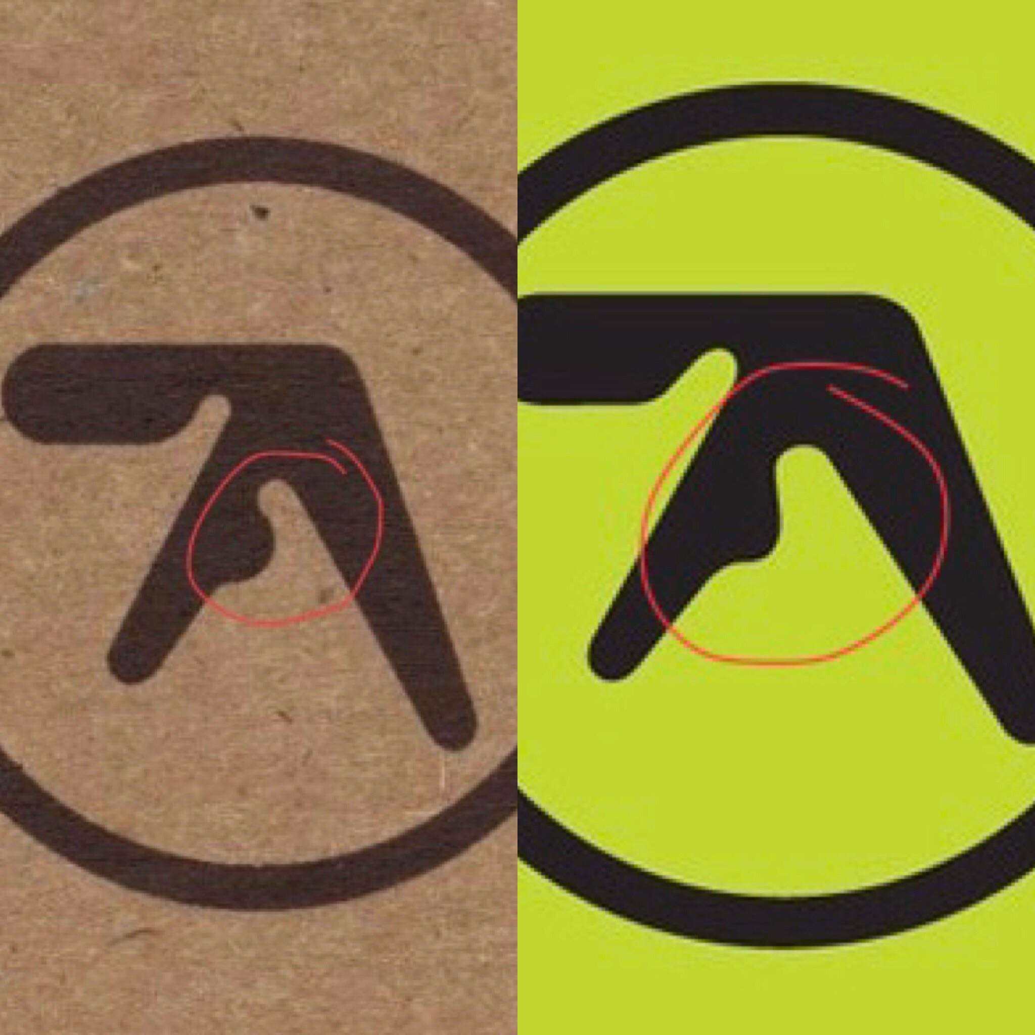 2048x2048 You Guys Ever Notice This Slight Variation In The Aphex Twin Logo