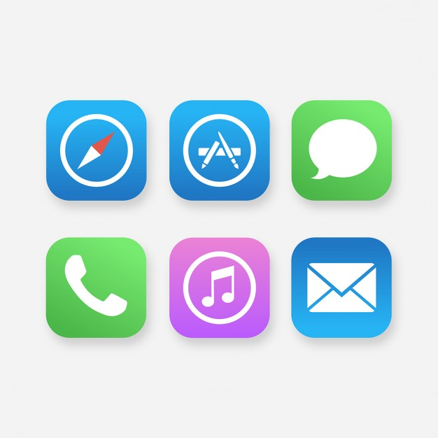626x626 App Icons Mobile App Icons Vector Free Download