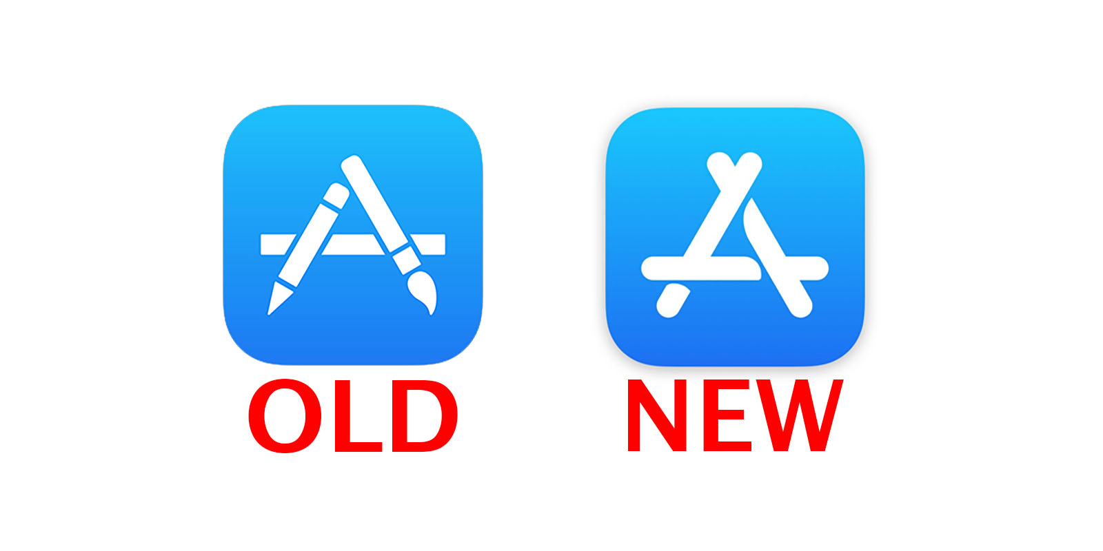 1600x800 Apple Just Changed The App Store Icon For The First Time In Years