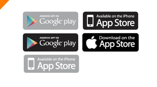 540x300 Results For App Store Google Play Vector