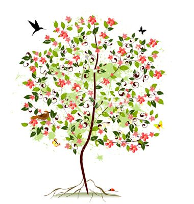 380x400 Bloosoming Apple Tree Clipart Amp Bloosoming Apple Tree Clip Art