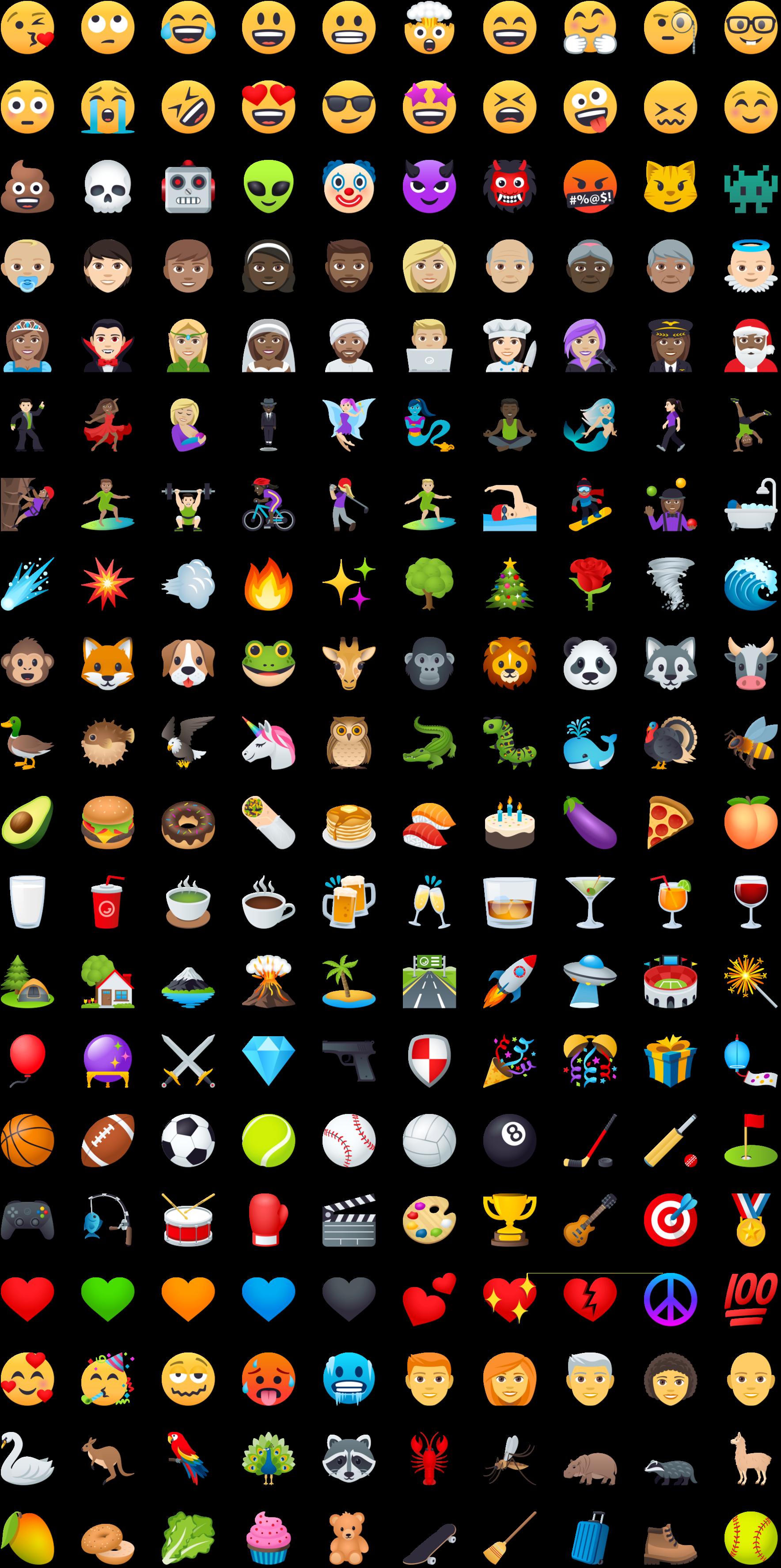 Apple Emoji Vector Free Download at GetDrawings.com   Free ...