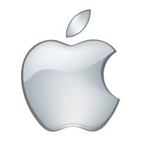 200x200 Apple Logo Vector In (Eps, Ai, Cdr) Free Download