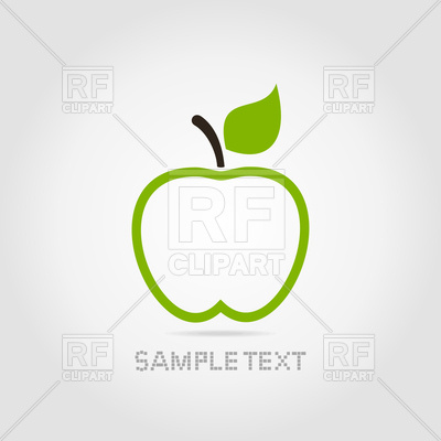 400x400 Green Apple Icon Vector Image Vector Artwork Of Icons And