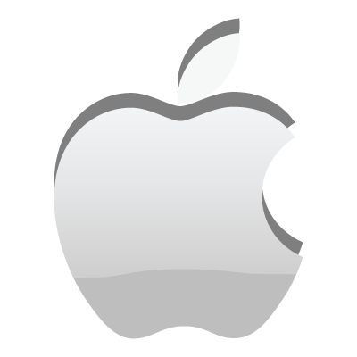 400x400 Apple Logo Vector (.eps, 373.21 Kb) Download