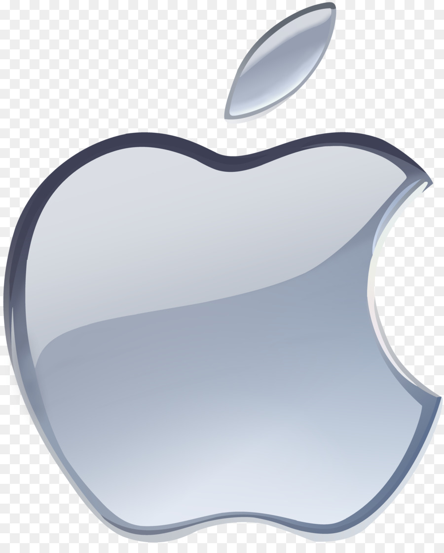 900x1120 Apple Logo Silver