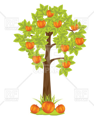 320x400 Apple Tree Vector Image Vector Artwork Of Plants And Animals