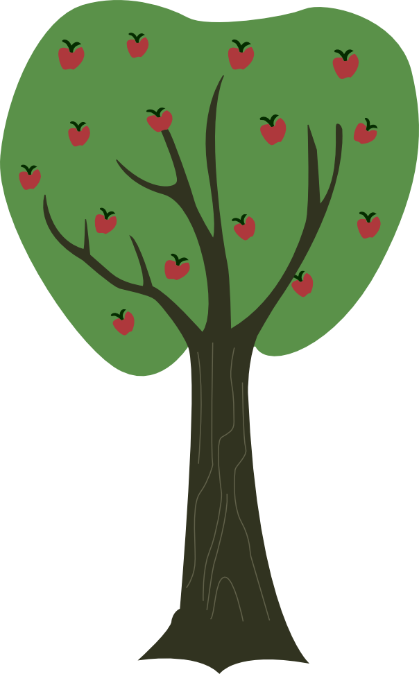 604x972 Collection Of Free Branch Vector Apple Tree. Download On Ubisafe