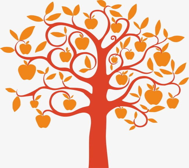 650x579 Apple Tree, Apple Vector, Tree Vector, Trees Png And Vector For