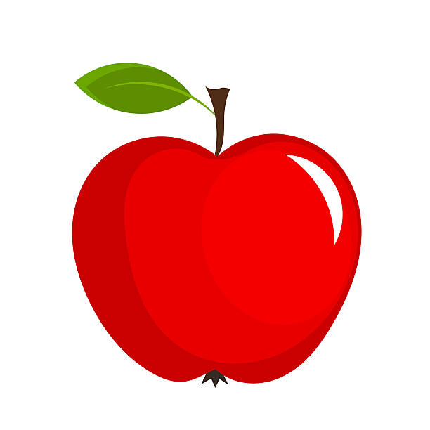 612x612 Clipart Red Apple Amp Clip Art Red Apple Images