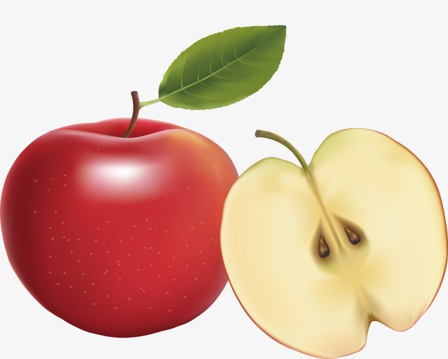 650x521 Apple Vector, Red Apple, Cut Apple, Fruit Png And Vector For Free