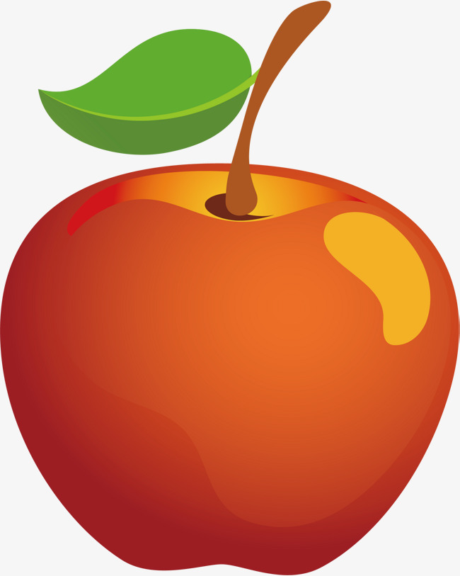 650x813 Apple Png Vector Element, Apple Vector, Cartoon, Food Png And