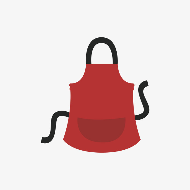 650x651 Red Apron, Gules, Apron, Vector Png And Vector For Free Download