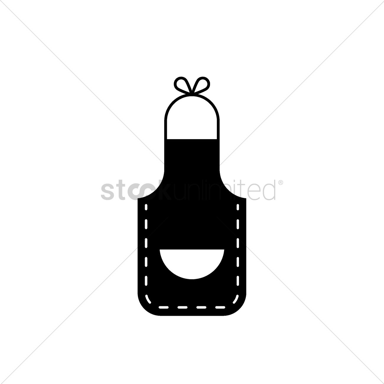 1300x1300 Apron Vector Image
