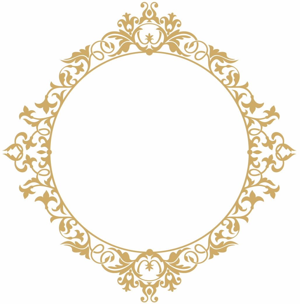1028x1040 Arabesco Vetor Casamento Redondo