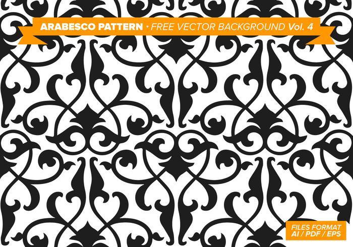 700x490 De Arabesco Vetor De Fundo Livre Vol. 4