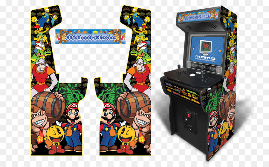 900x560 Asteroids Pac Man Arcade Cabinet Arcade Game Mame