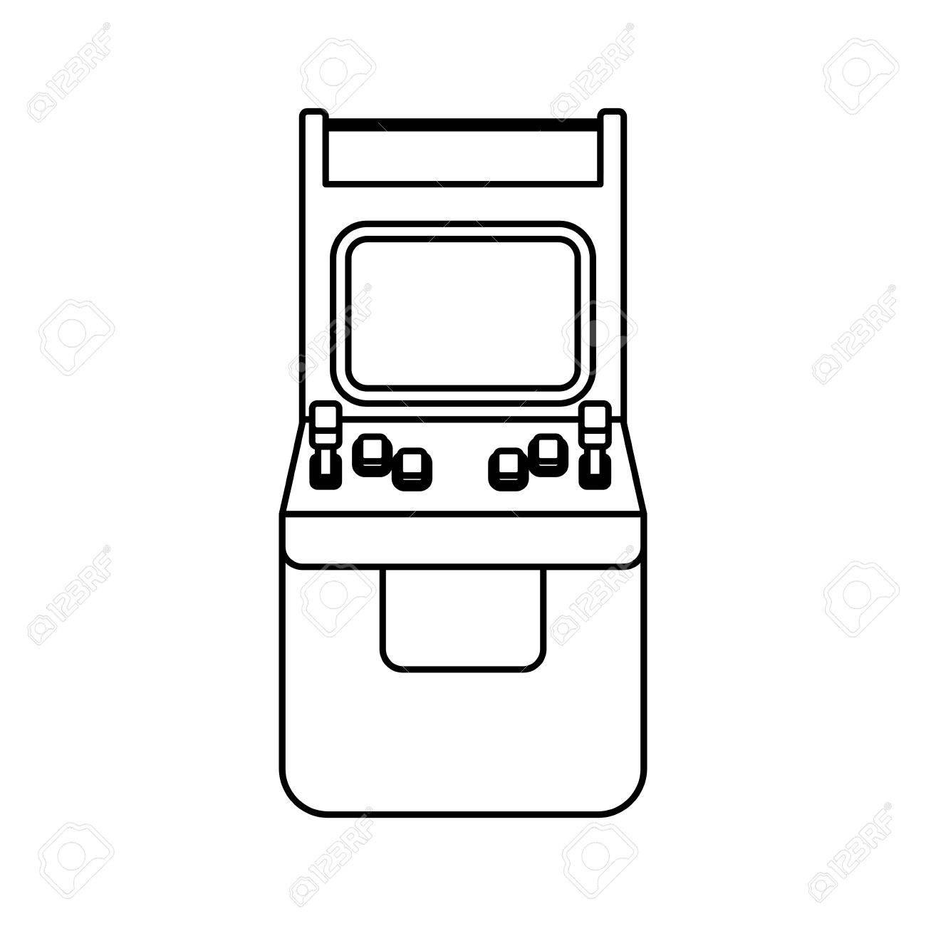 1300x1300 Free Arcade Machine Icon 252988 Download Arcade Machine Icon