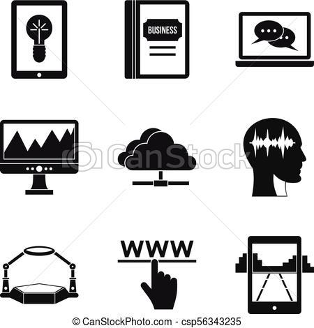 450x470 Arcade Icons Set, Simple Style. Arcade Icons Set. Simple Set Of 9