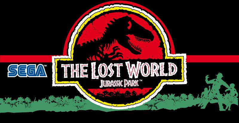 800x413 Jurassic Park The Lost World Marquee Art, Arcade Artwork, Package