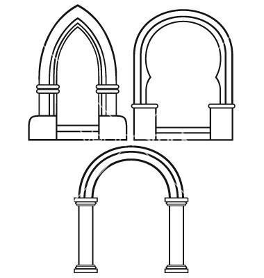 Arch Vector