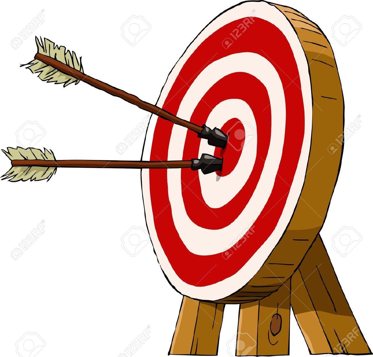 Archery Target Vector