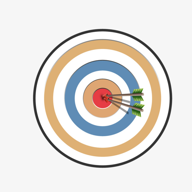 650x651 Color Ring Archery Target, Color Vector, Ring Vector, Target