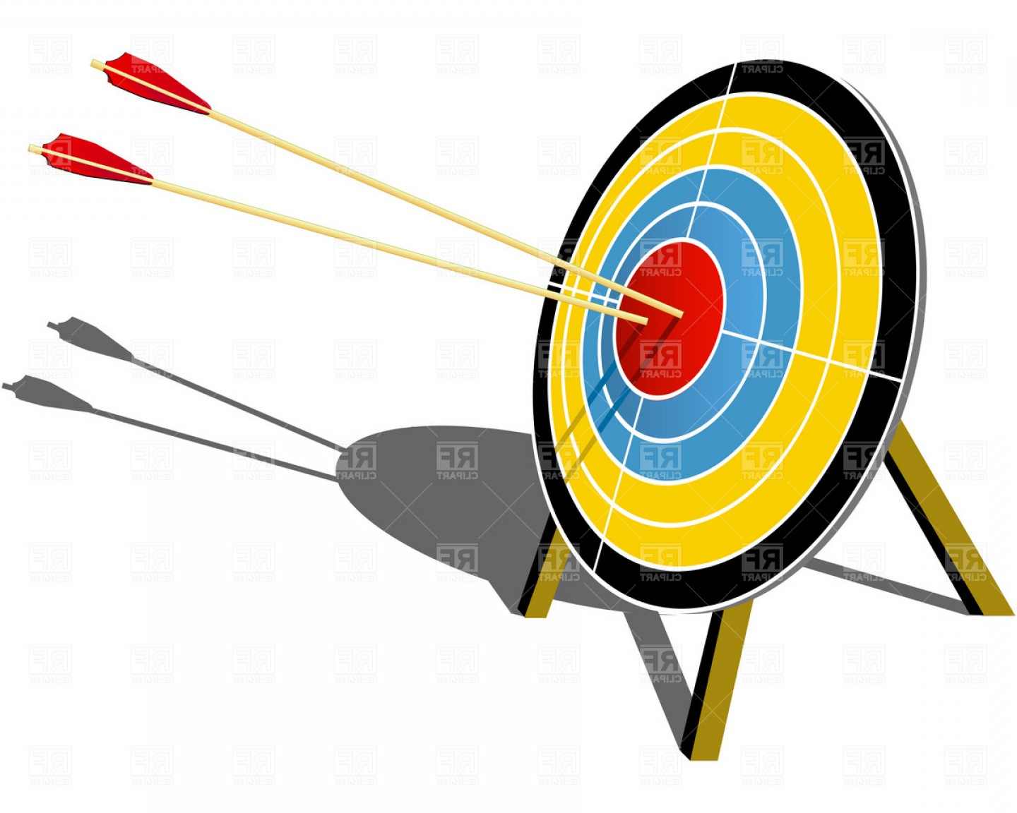 Archery Target Vector at GetDrawings | Free download