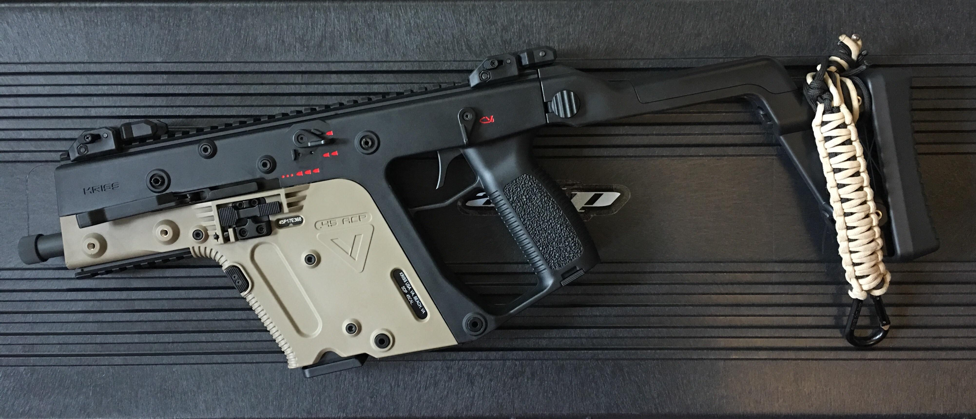 4005x1721 Custom Two Tone Ares Kriss Vector Airsoft
