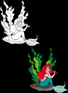 220x300 The Little Mermaid