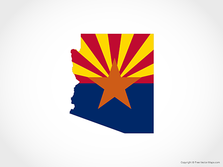 Arizona State Map Free.Arizona Outline Vector At Getdrawings Com Free For Personal Use