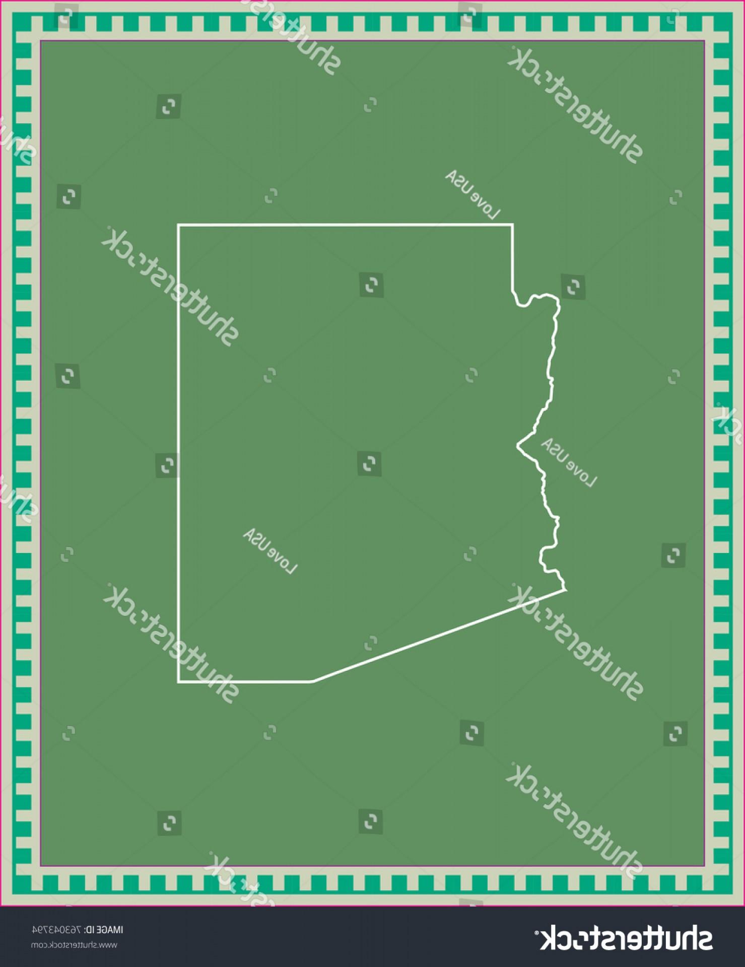 1479x1920 Arizona State Usa Map Vector Outline Createmepink