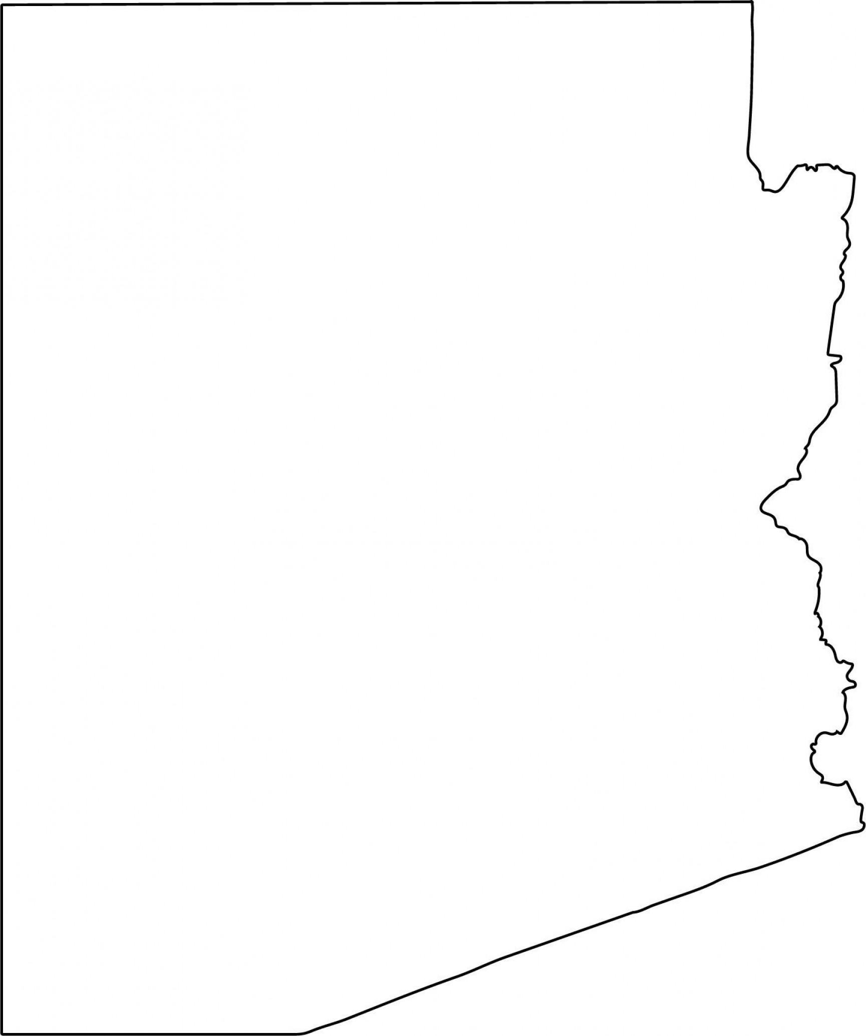 1729x2068 Arizona Vector State Clipart Arizona Svg Createmepink