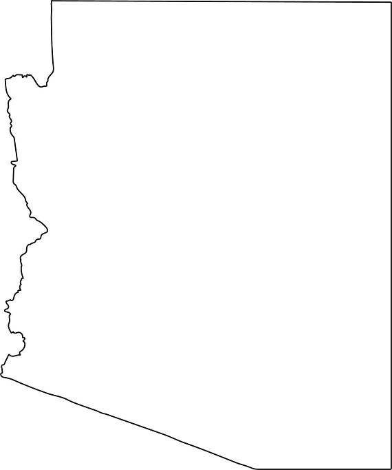570x682 Collection Of Arizona State Clipart High Quality, Free