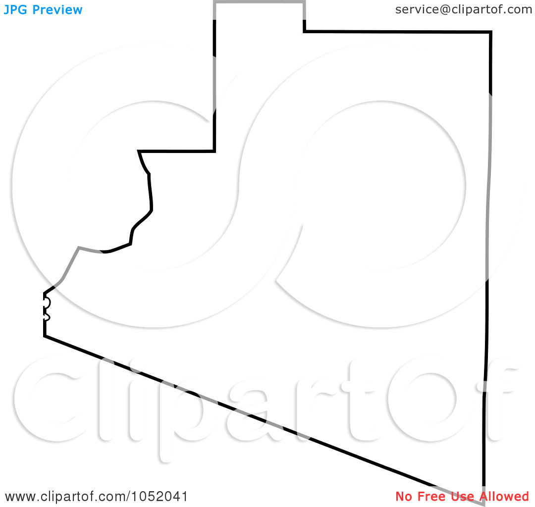 1080x1024 United States Outline Drawing Vector Library