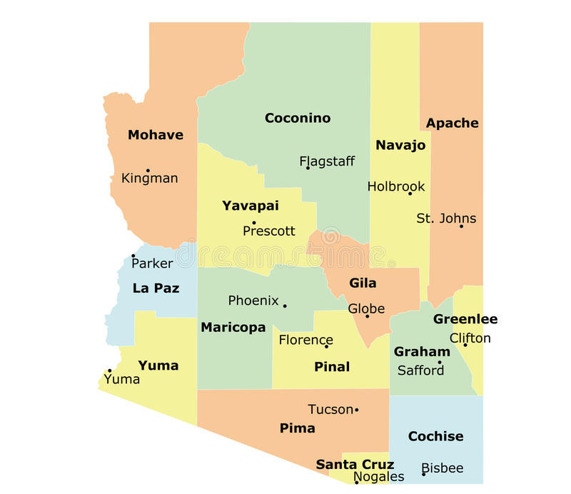 County Map Of Arizona With Cities.Arizona State Vector At Getdrawings Com Free For Personal Use