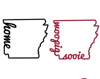 Arkansas Shape Vector
